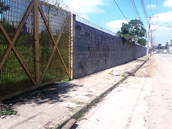 construção de muro